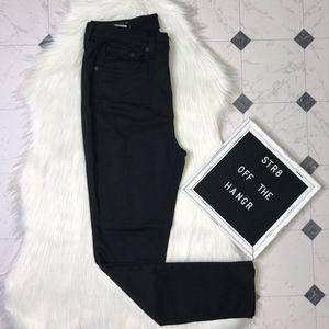 NWT rag & bone black high rise skinny pants sz 31